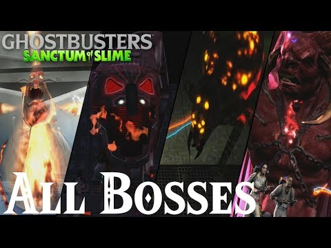 Ghostbusters : Sanctum of Slime // All Bosses