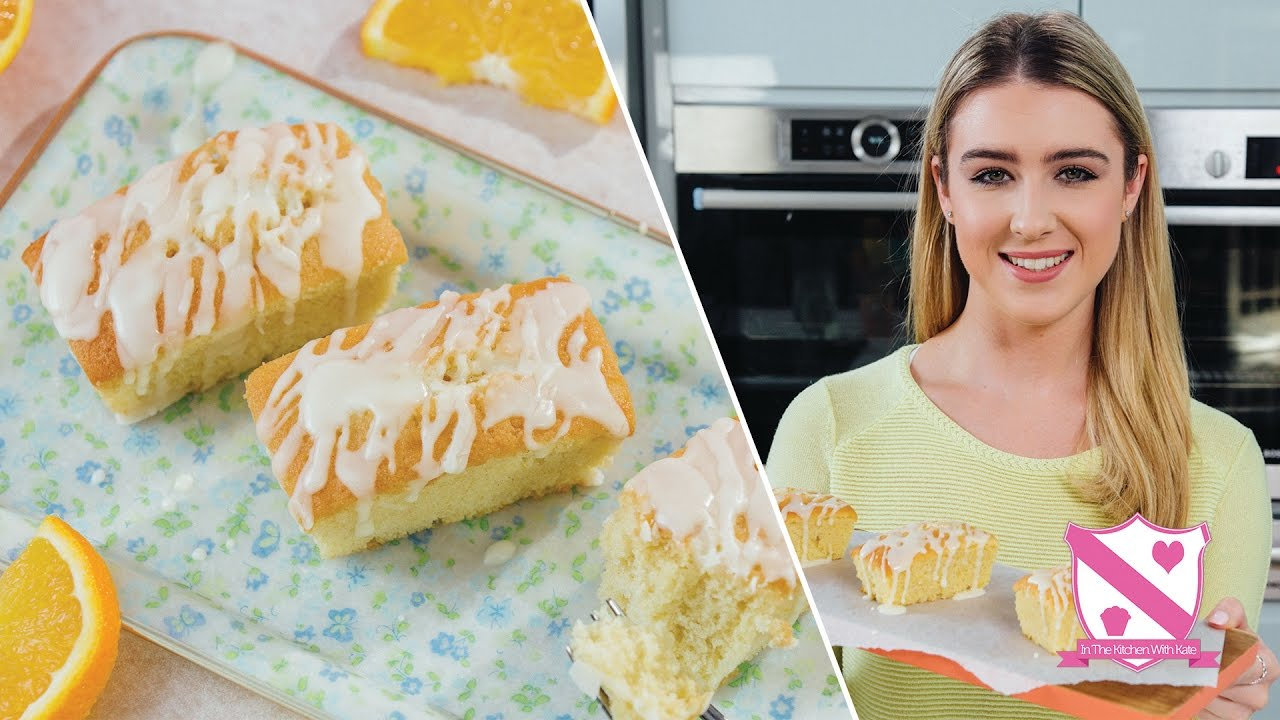 Mini Orange Drizzle Loaves In The Kitchen With Kate