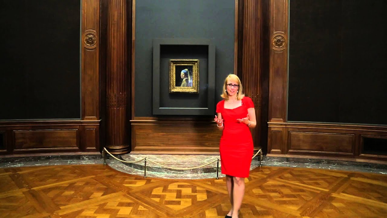 Girl With A Pearl Earring At The Frick Youtube