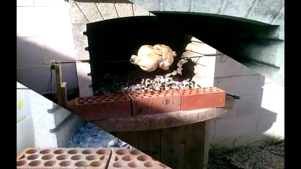 Como hacer un asador giratorio el ctrico para la barbacoa rustidor youtube - Como se construye una barbacoa ...