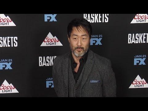 Kenneth Choi FX's Baskets Premiere Red Carpet