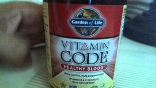 Should you take Iron Supplement? VITAMIN CODE