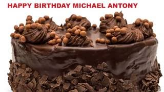 MichaelAntony   Cakes Pasteles - Happy Birthday