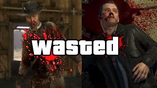 Every Rockstar Games Protagonist Who Has Died!