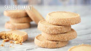 SABLÉS DIAMANTS⎟Recette Biscuits