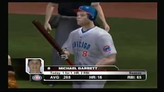 ESPN MLB 2K5 Gameplay - PS2 - Cubs vs Giants