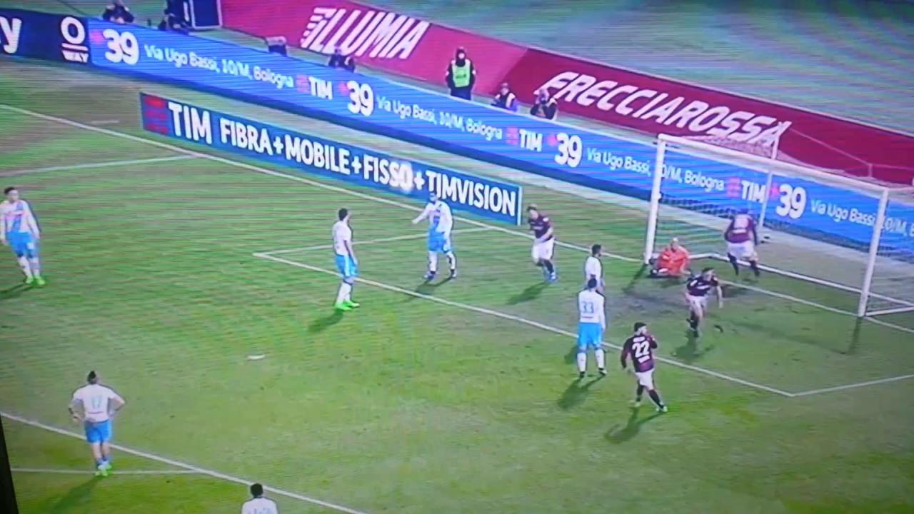 Bologna Vs Napoli 1 7 Highlights Youtube