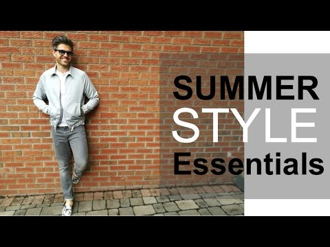 5 Summer Style Essentials | Men's Summer Vacation Outfits | Darren Kennedy