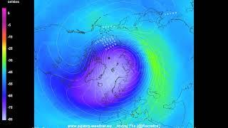 Stratospheric polar vortex weakening + warming - GFS 16/Nov 00z  Severe Weather Europe