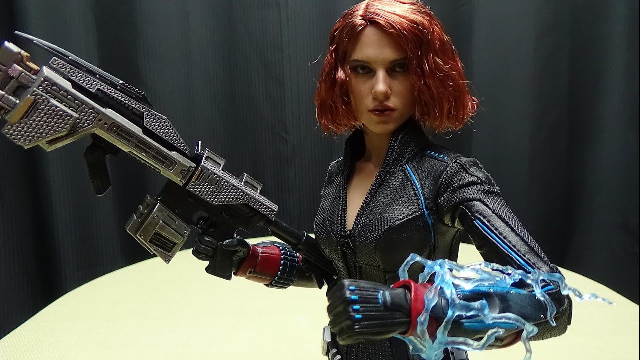 Black Widow Age Ultron: Hot Toys Avengers Age Of Ultron BLACK WIDOW: EmGo's Hot