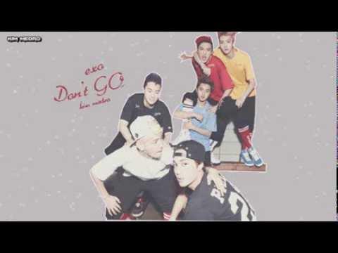 EXO - Don't Go ( Acapella ) . Arabic sub