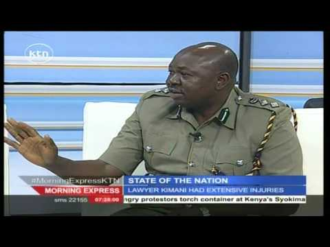 Morning Express 7th July 2016 State of the Nation: Death of Lawyer Kimani