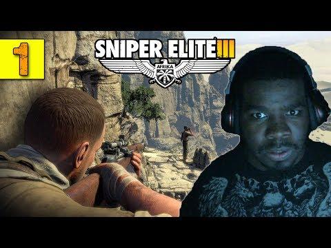 Sniper Elite 3 Walkthrough Gameplay Part 1  - Man Down - Sniper Elite 3