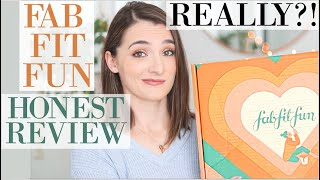 FAB FIT FUN, I'm Disappointed 😒HONEST, NOT-SPONSORED UNBOXING | The Fall Box 2019 #BEFOREYOUBUY