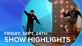 Download Guest Host Arsenio Hall with Matt James and G-Eazy!   Highlights From Friday, September 24th