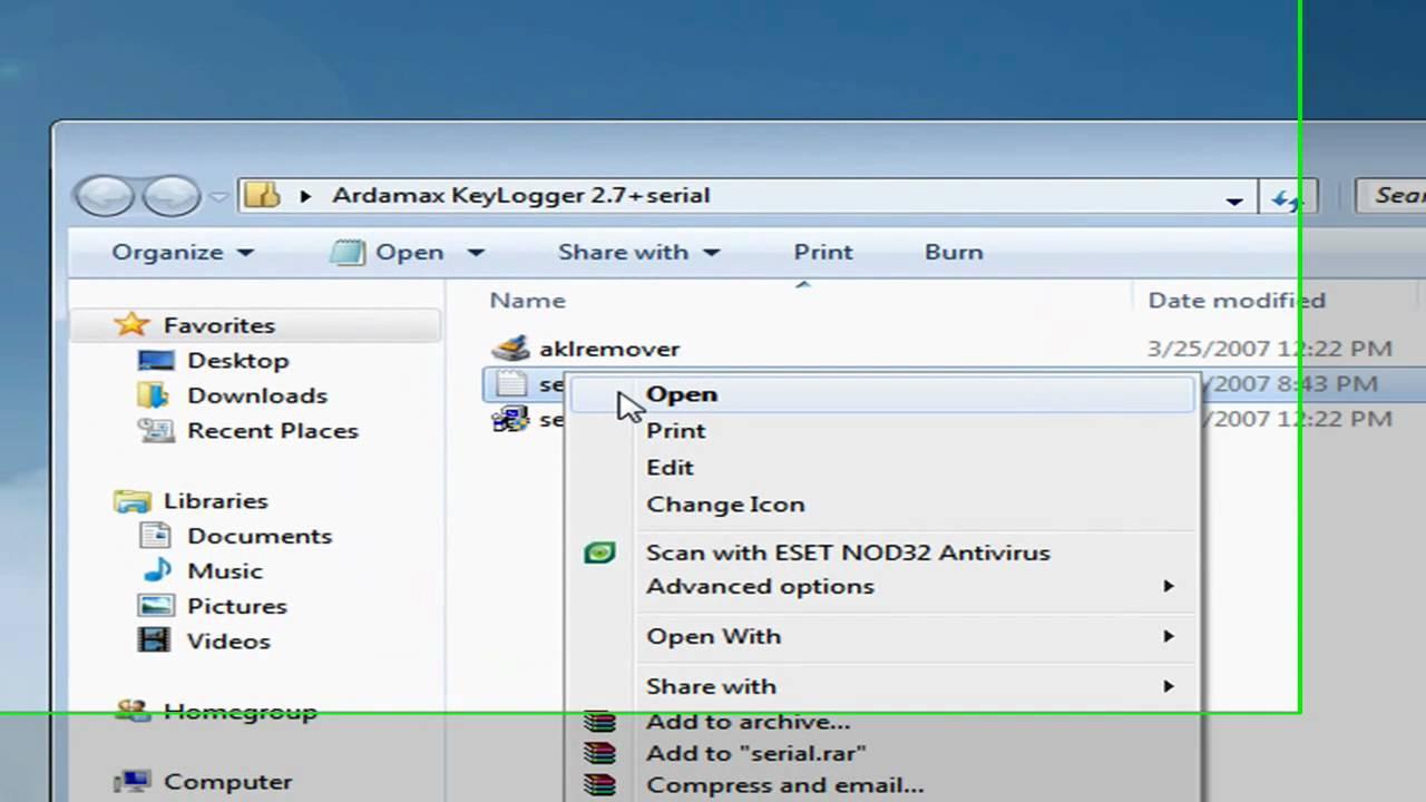 Ardamax Keylogger v2.3 .rar