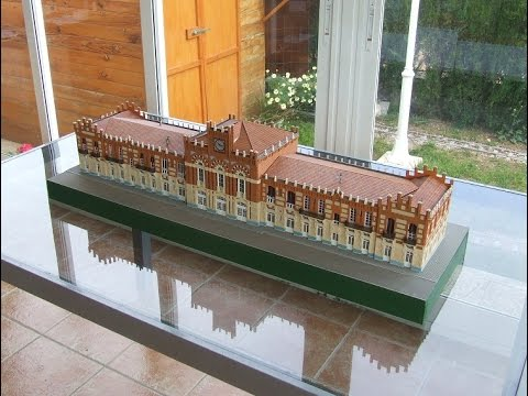 Building the ARANJUEZ RAILWAY STATION in H0 1:87 scale – model train