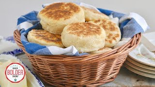 How to Make English Muffins | No Oven Needed | Bigger Bolder Baking