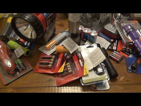 What Is The Best Dollar Store Flashlight?  (Part 1 Of 2) The Options...
