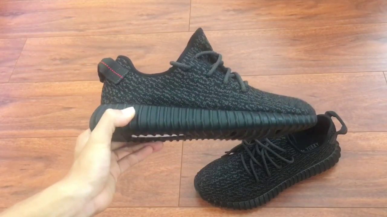 f2936998ab2c7 CustomerREVIEW UNBOXING Yeezy Boost 350  Pirate Black  God Version w On Feet!  2