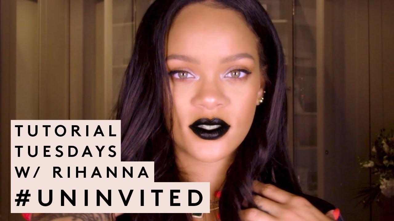 Tutorial Tuesdays With Rihanna Uninvited Fenty Beauty Youtube
