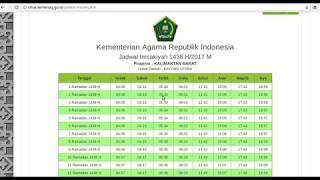 Download Video Jadwal Imsakiyah Resmi Seluruh Indonesia MP3 3GP MP4