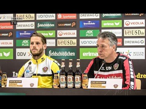 38. Spieltag | SGD - SGA | Pressekonferenz vor dem Spiel
