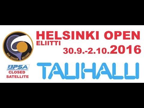 Helsinki Open 2016 day 1