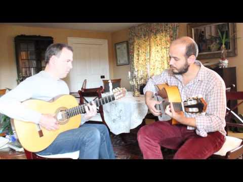 Flamenco Guitar Duo UK - Buleria de David-  Nuestras Vivencias