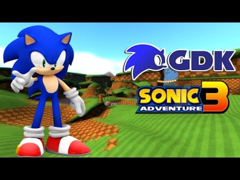 sonic adventure 3 fan game demo unreal engine youtube