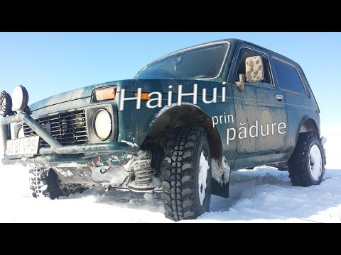 LADA NIVA vs SUZUKI VITARA IASI/ROMANIA off road snow fun