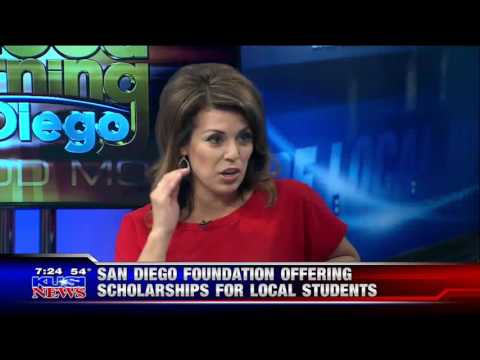 Danielle Valenciano from The San Diego Foundation Discusses Their Student Scholarships on KUSI