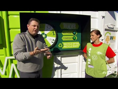 Waste Management: Charlie Rymer learns the rules of recycling