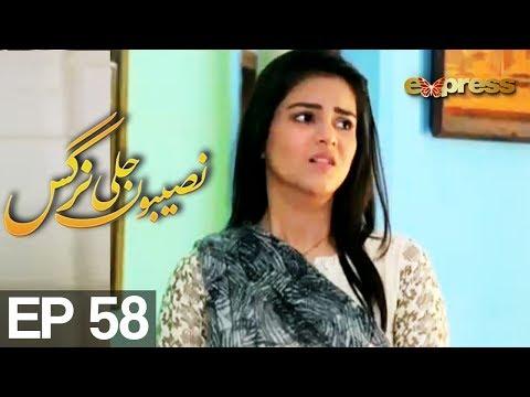 Naseebon Jali Nargis - Episode 58 - Express Entertainment