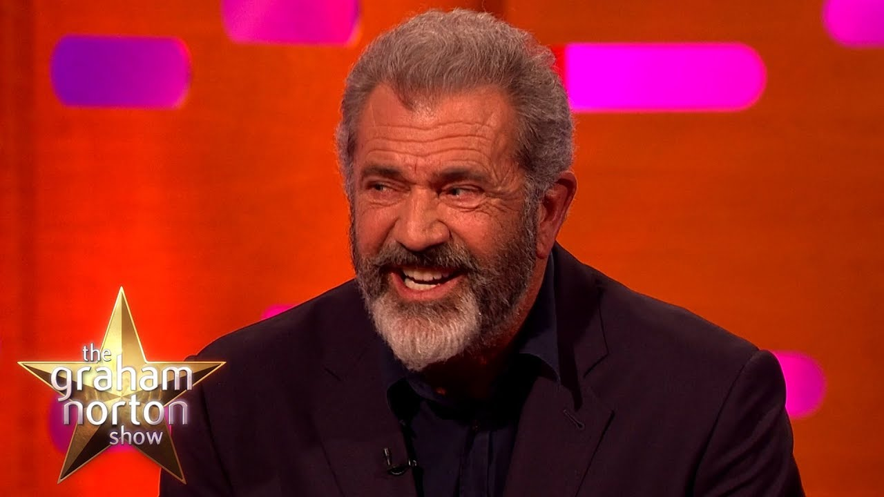 Mel gibson took accent lessons from sean connery the graham norton mel gibson took accent lessons from sean connery the graham norton show thecheapjerseys Image collections