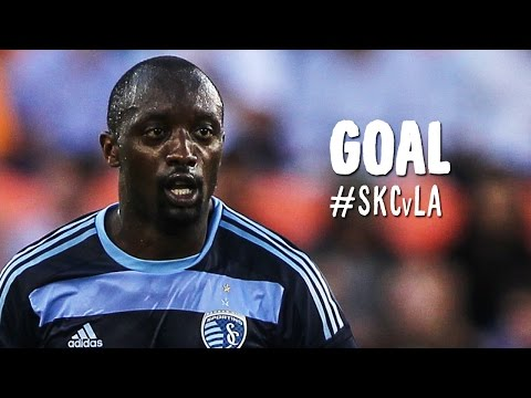 GOAL: Lawrence Olum Magnificently Heads It In | Sporting Kansas City Vs. LA Galaxy