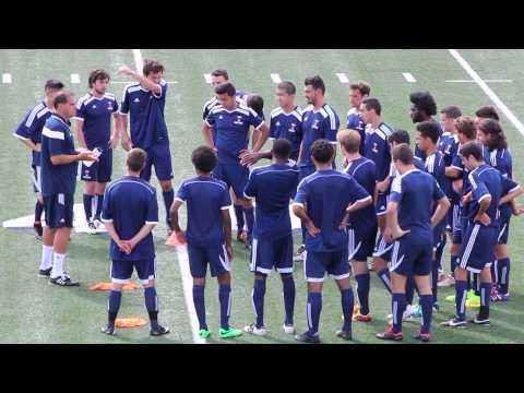 Varsity Blues Men's Soccer Training Camp 2014