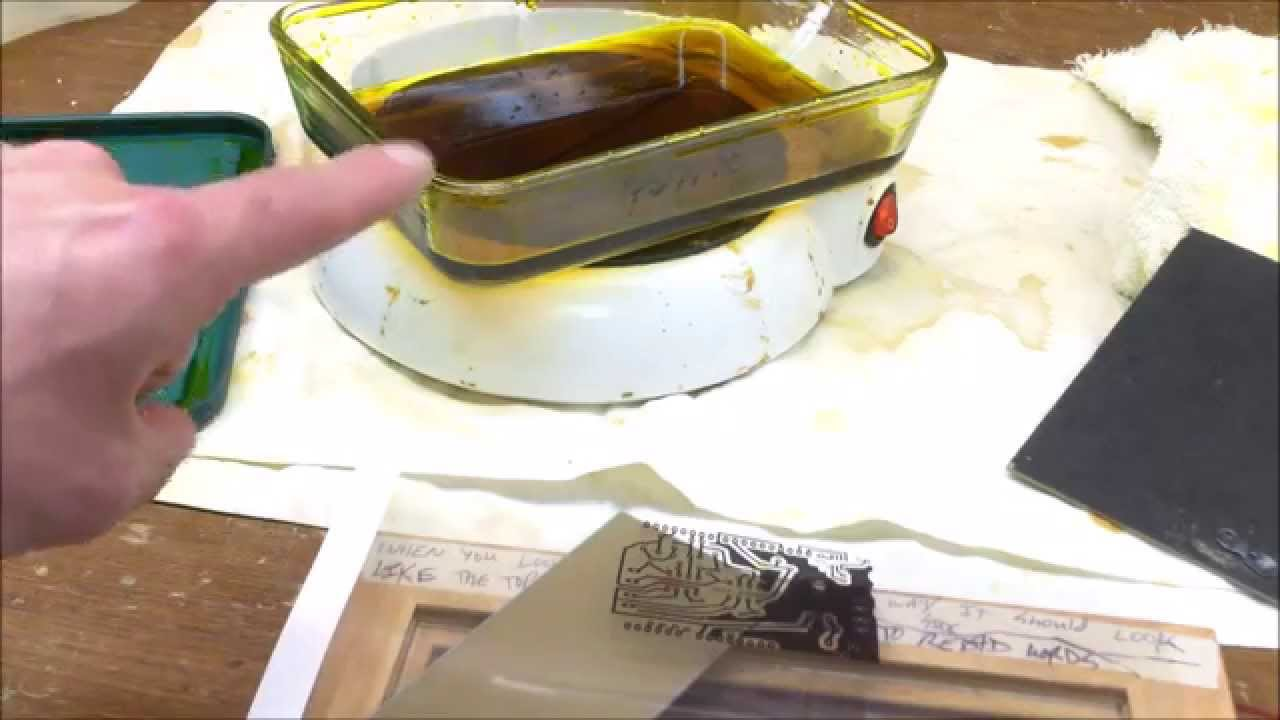 What Is A Catalytic Converter >> How To: DIY PCB Etching / Make PCB with Ferric Chloride - YouTube