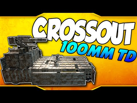 Crossout ➤ 100mm Tank Destroyer & 25mm Auto Cannon Testing [Let's Play Crossout Gameplay]