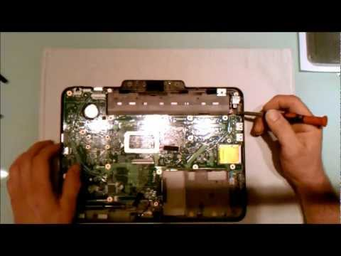 How to Take Apart HP Touchsmart Tm2 Laptop Computer