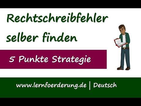 So findest du deine Rechtschreibfehler selber - 5 Tipps from YouTube · Duration:  3 minutes 24 seconds