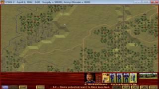 Civil War Generals II - The Battle of Shiloh (Part 1)
