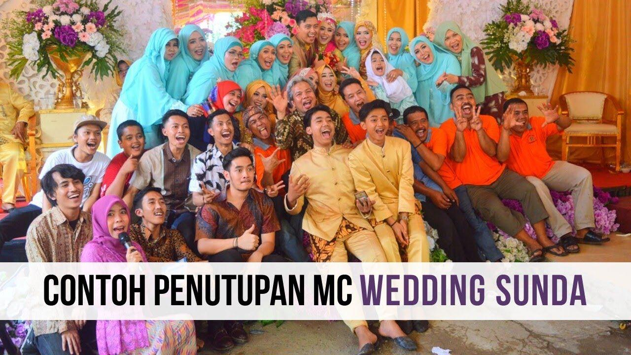 Contoh Penutupan Mc Wedding Sunda Puji Kamilah Youtube