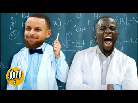How much fun is Steph Curry and Draymond Green's chemistry? | The Jump