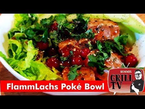 FlammLachs (Heu)-Poké  Bowl