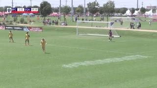 2017 USYS U19/20G Beach FC 98 Academy vs EGA Maroon 98 Field 4