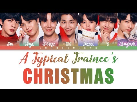 BTS (방탄소년단) - A Typical Trainee's Christmas 「Color Coded Lyrics_Han/Rom/Eng」