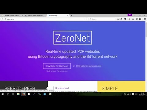 ZeroNet: Decentralized Websites on the Blockchain (An Overview)