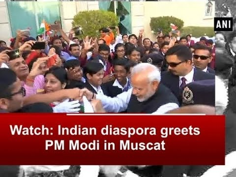 Watch: Indian diaspora greets PM Modi in Muscat - Oman News