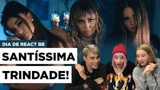 Ariana Grande, Miley Cyrus, Lana Del Rey - Don't Call Me Angel (Reaction) | Três de Outubro